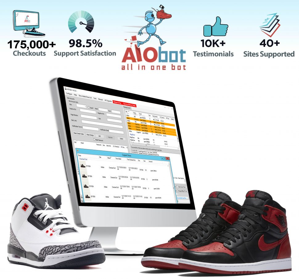 how to use a sneaker bot aiobot