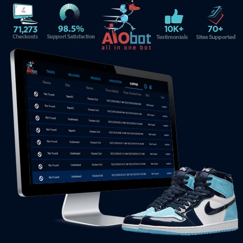 AIO Bot - Cop Limited Sneakers using All In One Bot 7a4ac1191