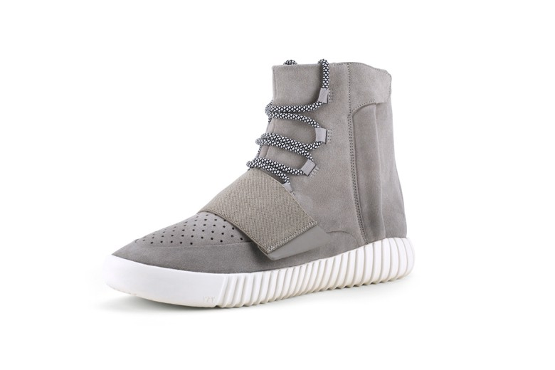 891e699211596 The Yeezy Boost 750 — a high-top grey suede sneaker — was made available in  February 2015 and sold out at lightning speeds.
