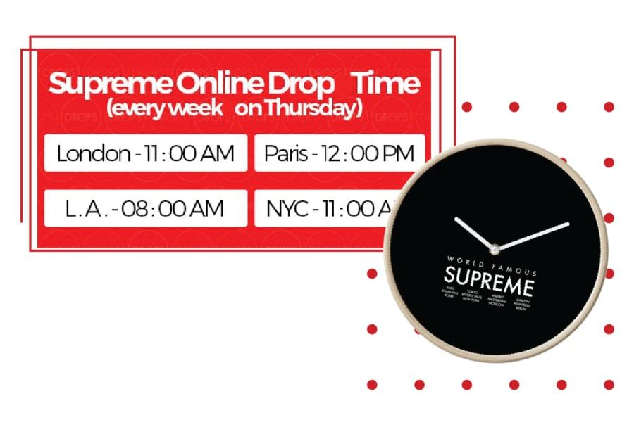 SUPREME THURSDAYS 11AM EST