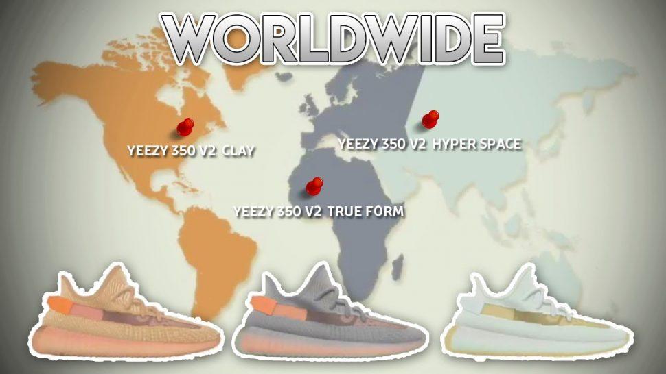 regional Yeezy sneakers