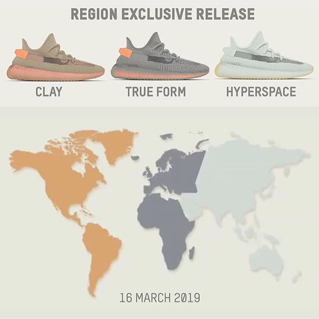yeezy adidas global release