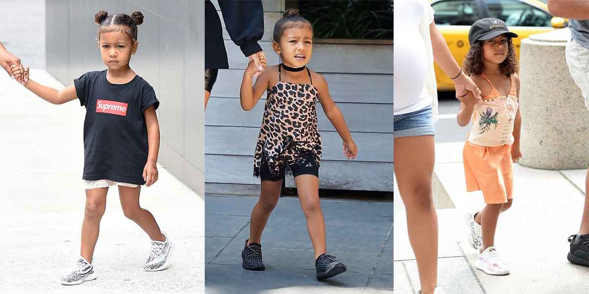 North West in Yeezys for Kids - AIO Bot