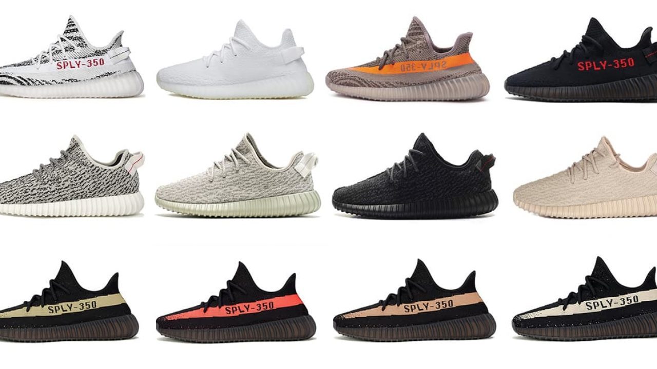 yeezy 350 collection