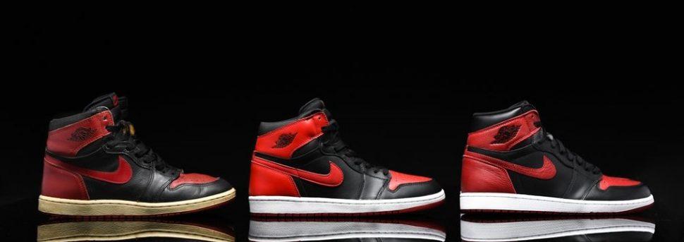 Air Jordan sneakers history