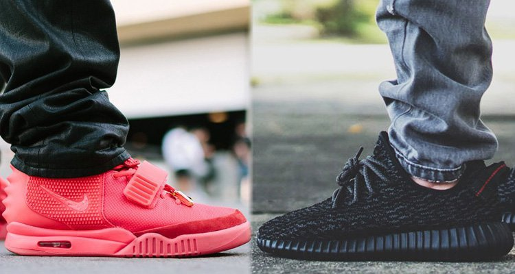 9bfd8485e Nike Air Yeezy vs Adidas Yeezy boost