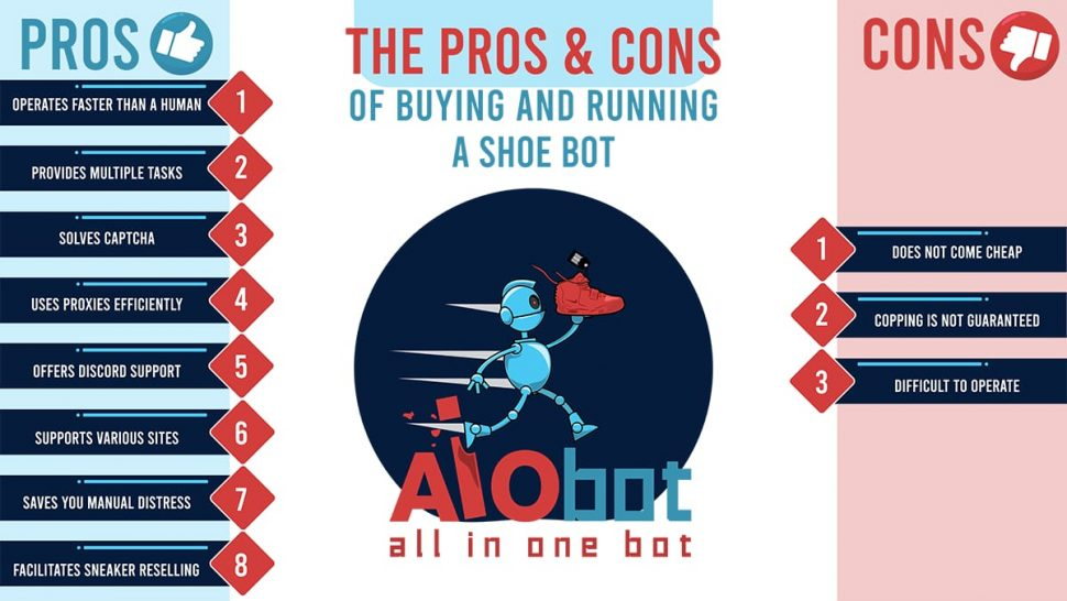 SHOE BOT PROS AND CONS INFO AIO