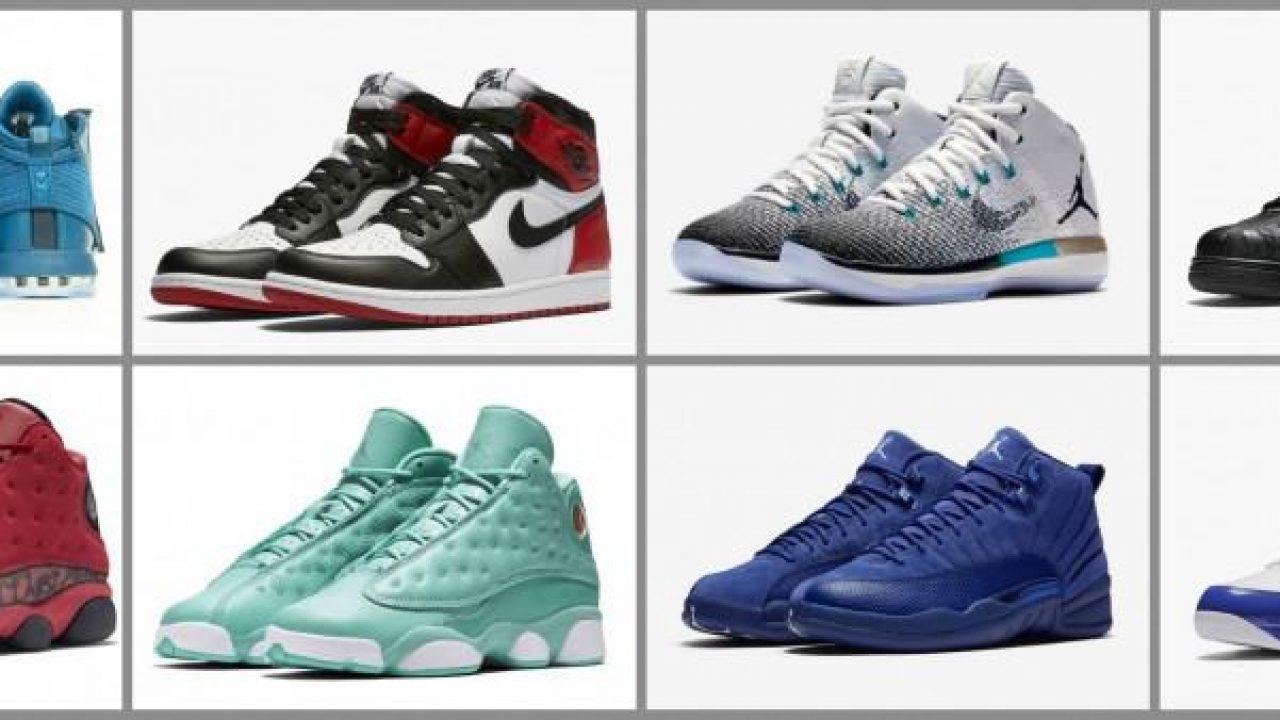 Air Jordan Releases – November 2016