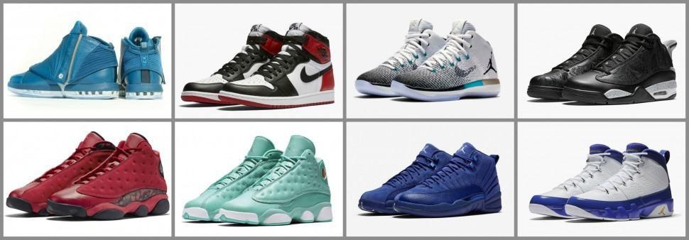 Air Jordan Releases November 2016