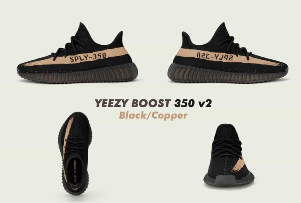 hot sale online 53e48 c5426 Adidas Yeezy Boost 350 v2 (Copper, Green, Red) Early Links ...