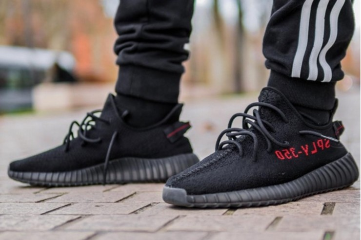 "size 40 18203 978b2 Adidas Yeezy Boost 350 v2 ""Core Black/Red"" Early Links 