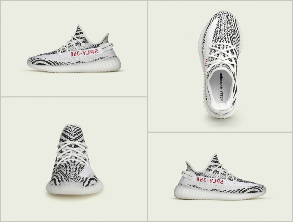 Order Authentic Yeezy boost 350 v2 'Zebra' infant sizes canada