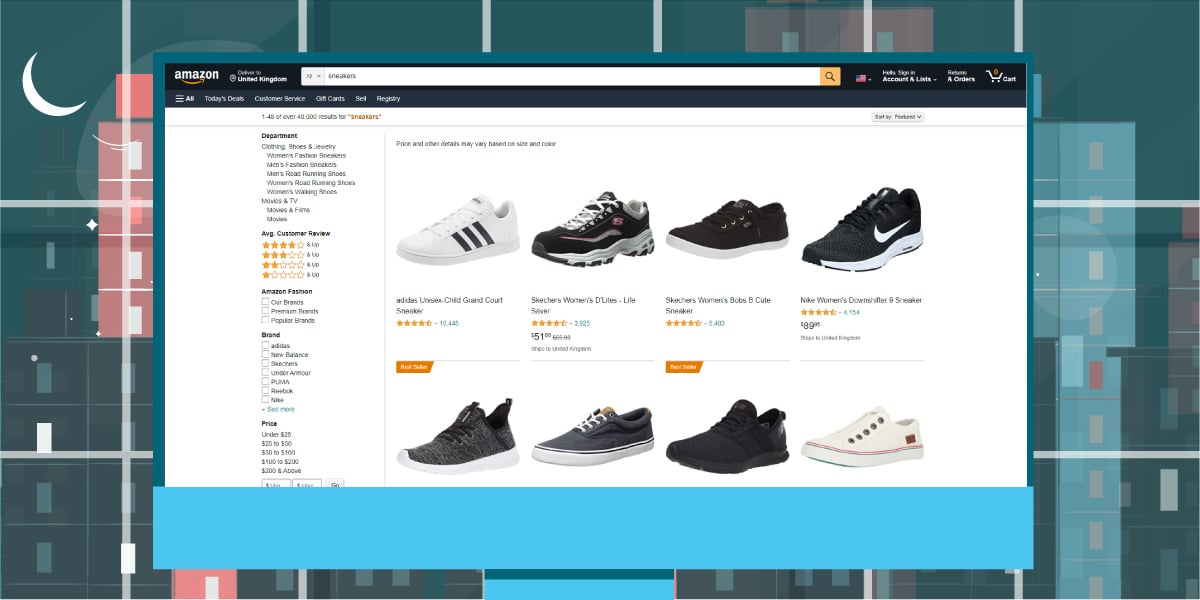 Amazon Website - AIO Bot