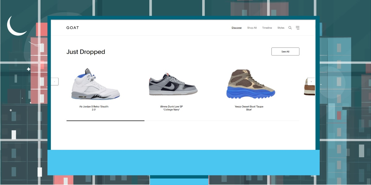 GOAT Website - Places to Sell Yeezy Boost - AIO Bot