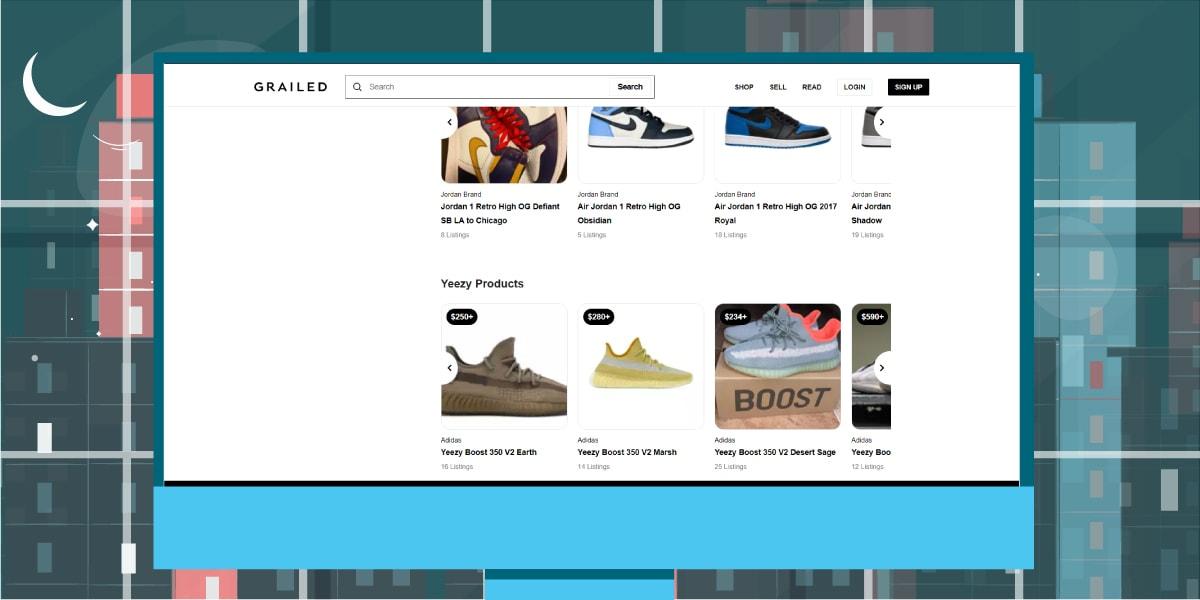 GRAILED Website - AIO Bot