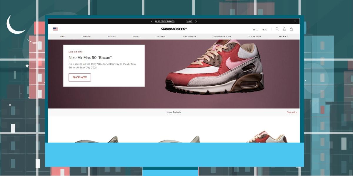 Stadium Goods Website - AIO Bot
