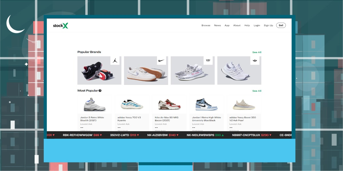 StockX Website - AIO Bot