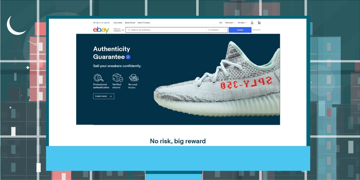 eBay Website - Places to Sell Yeezy Boost - AIO Bot