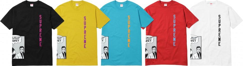 tee shirt supreme prix