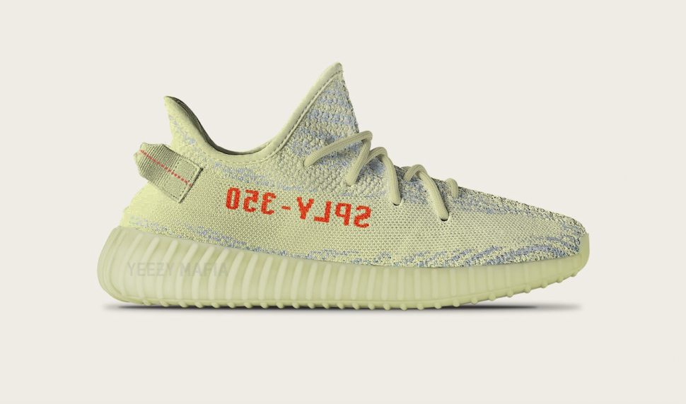 8146d232e2e0c Secret Yeezys revealed  Yeezy Boost 350 v2 Semi Frozen Yellow