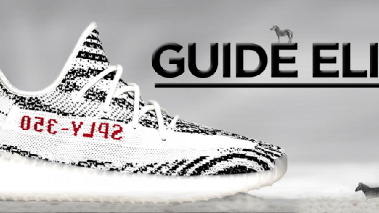 Get Yeezy Zebra Re-release Sneakers