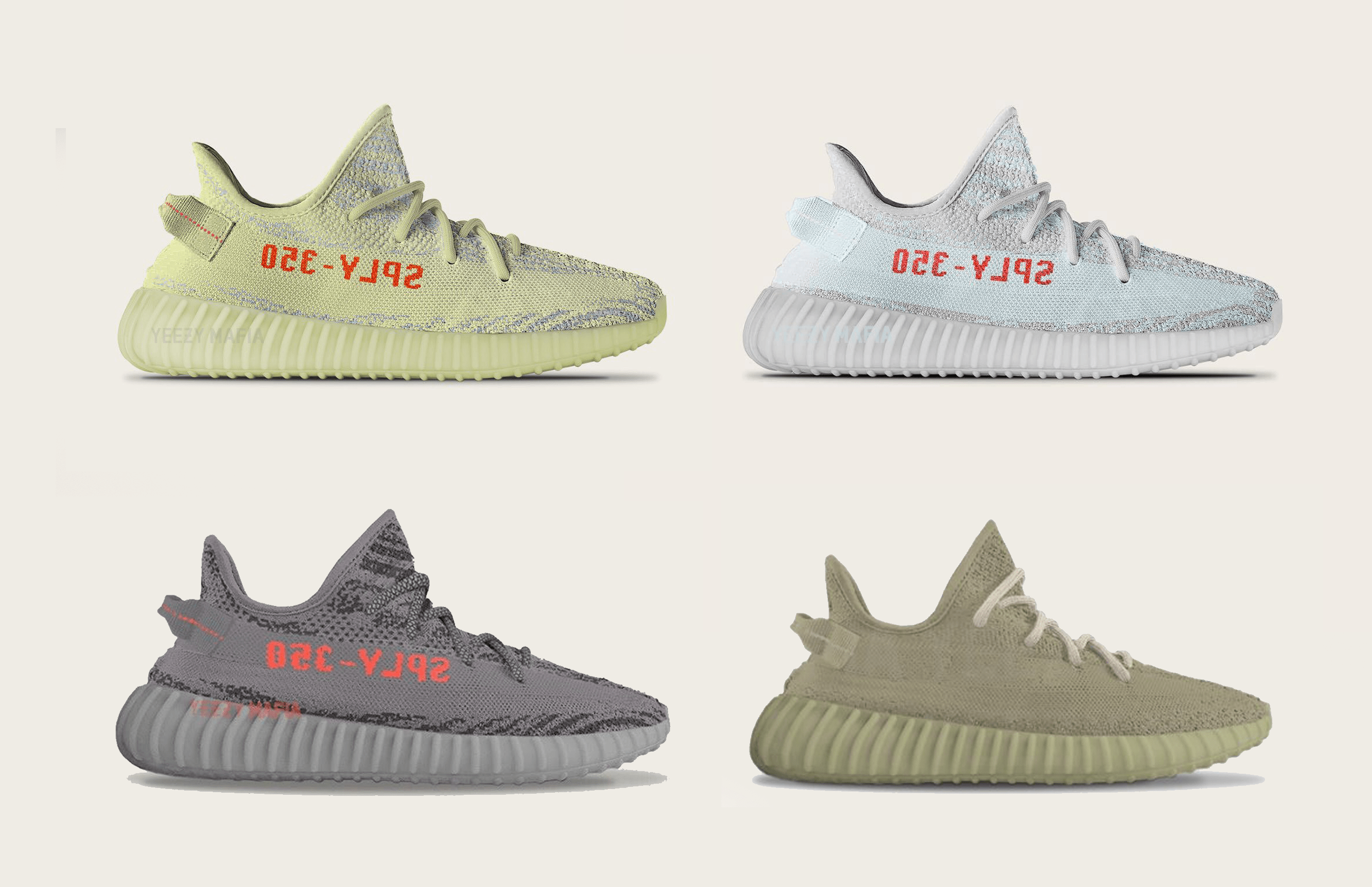 pretty nice b90b3 a1938 Most Limited Release – Yeezy Boost 350 v2 Semi Frozen Yellow ...