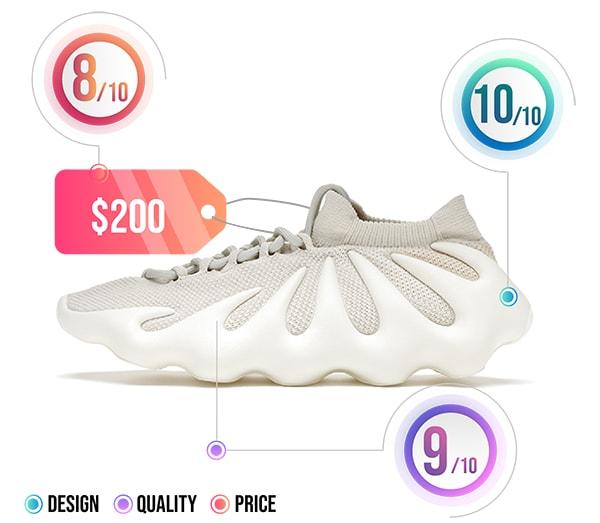 YZY 450 Cloud White - Best Men Yeezy Shoes - AIO Bot
