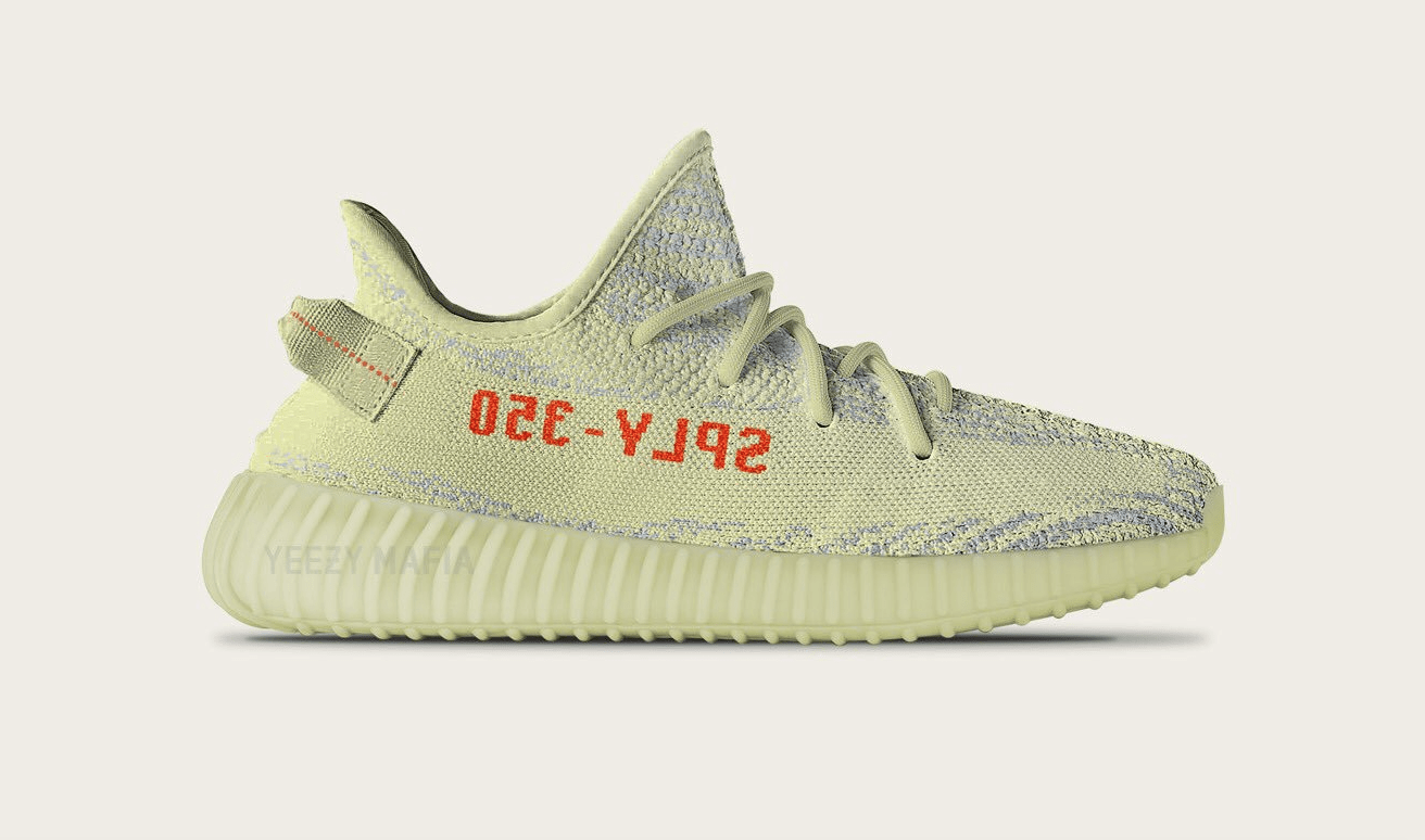 3458f3573 Most Limited Release – Yeezy Boost 350 v2 Semi Frozen Yellow
