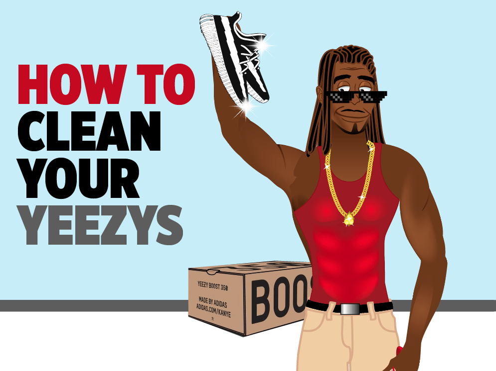 How to Keep Your Yeezy Boost Sneakers Cleaner Than Kanye s  b1a890822