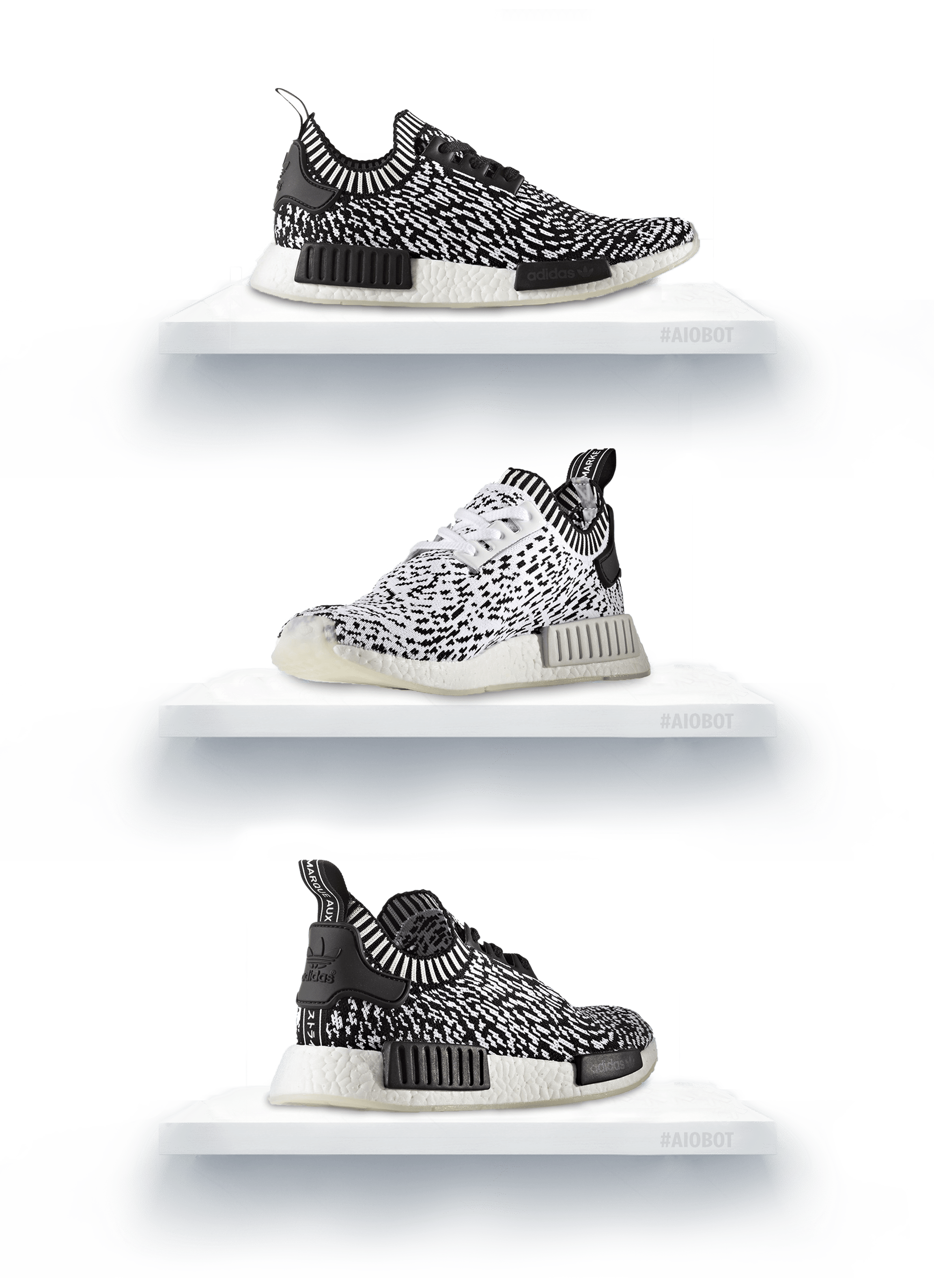 adidas NMD R1 PK Winter Wool Primeknit Black BB0679 Singapore