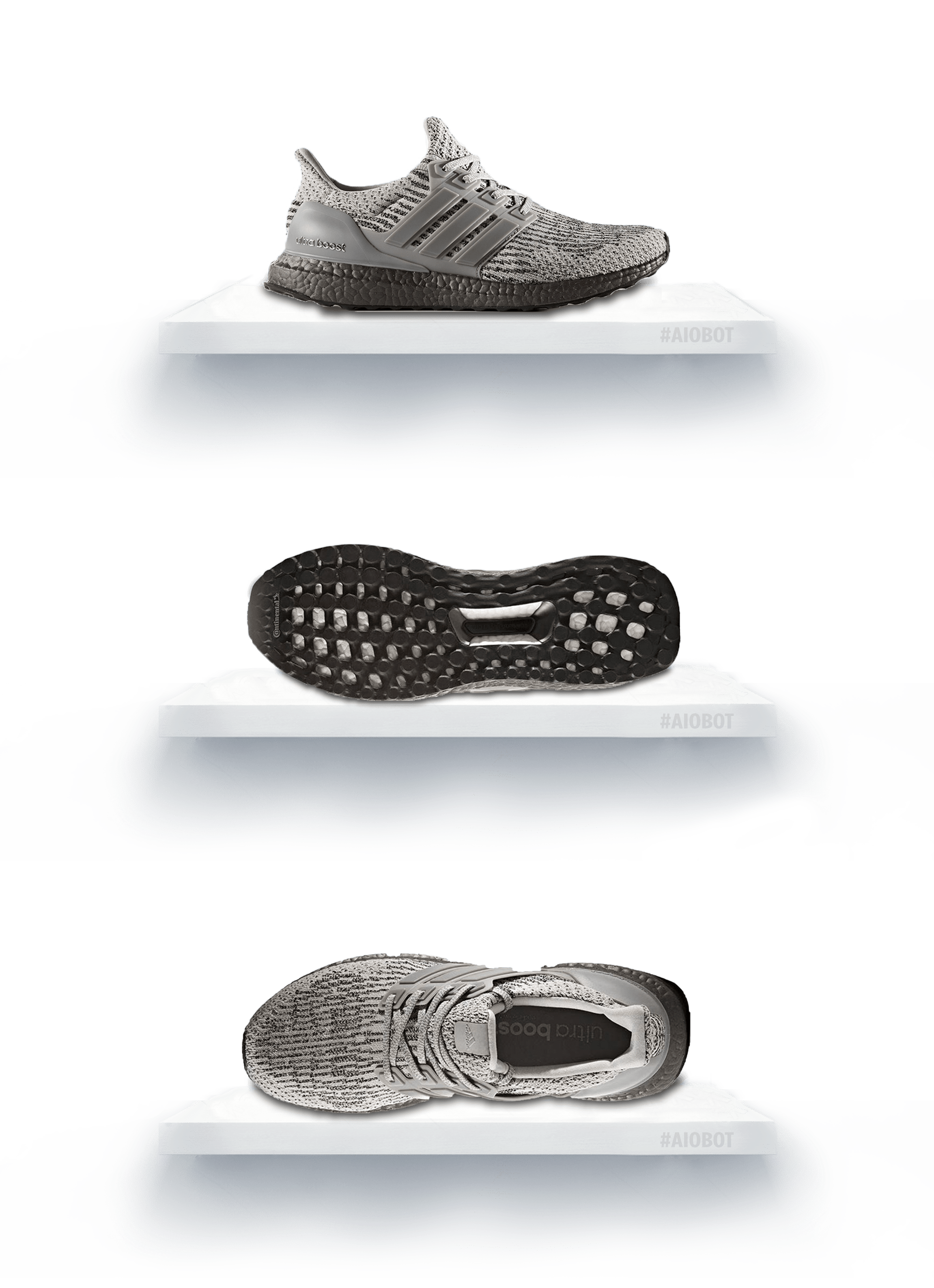 84b2e9b80 Adidas Ultra Boost 3.0 Triple Grey