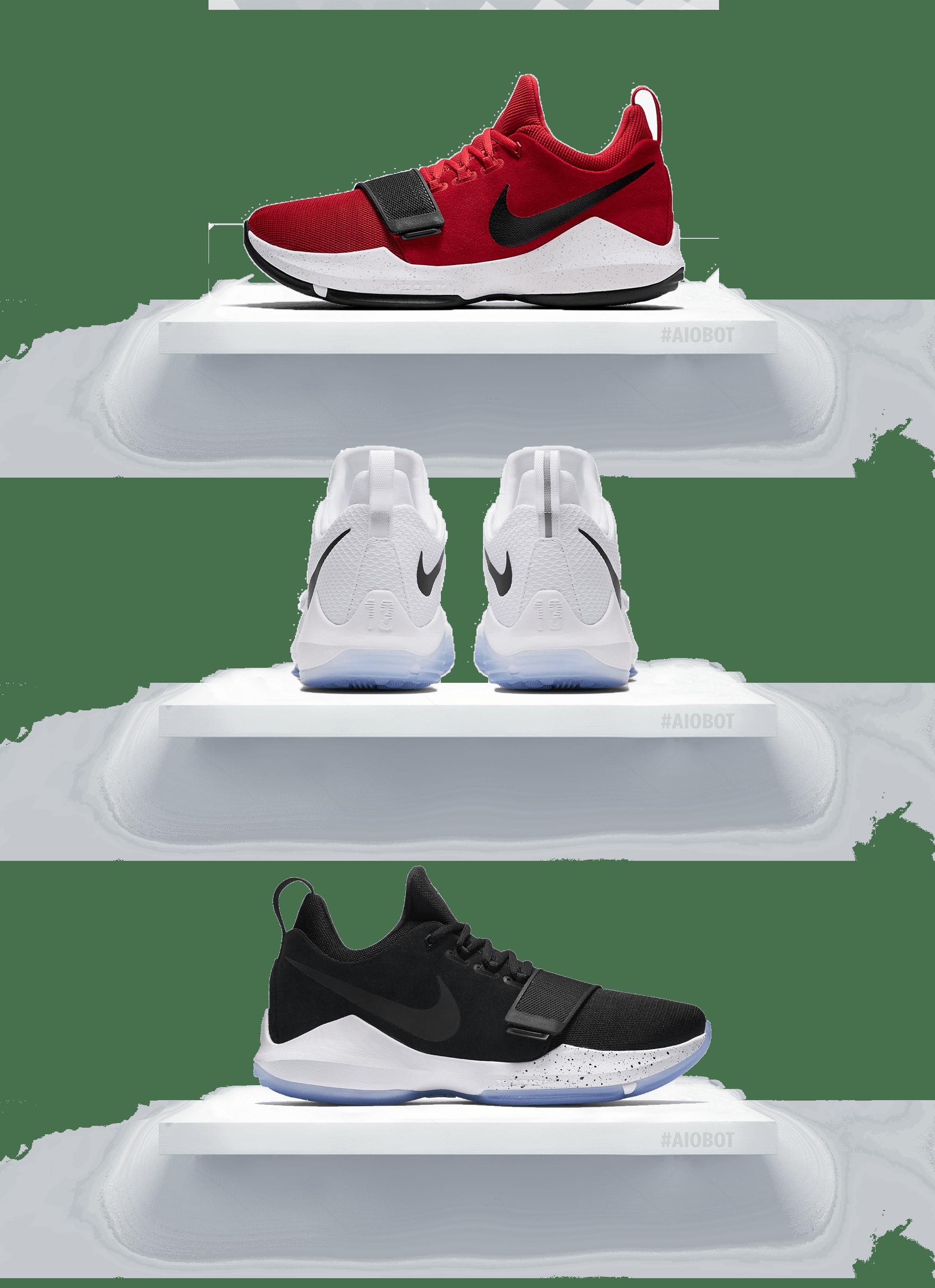be72cc81c130 Nike PG 1 University Red White-Black