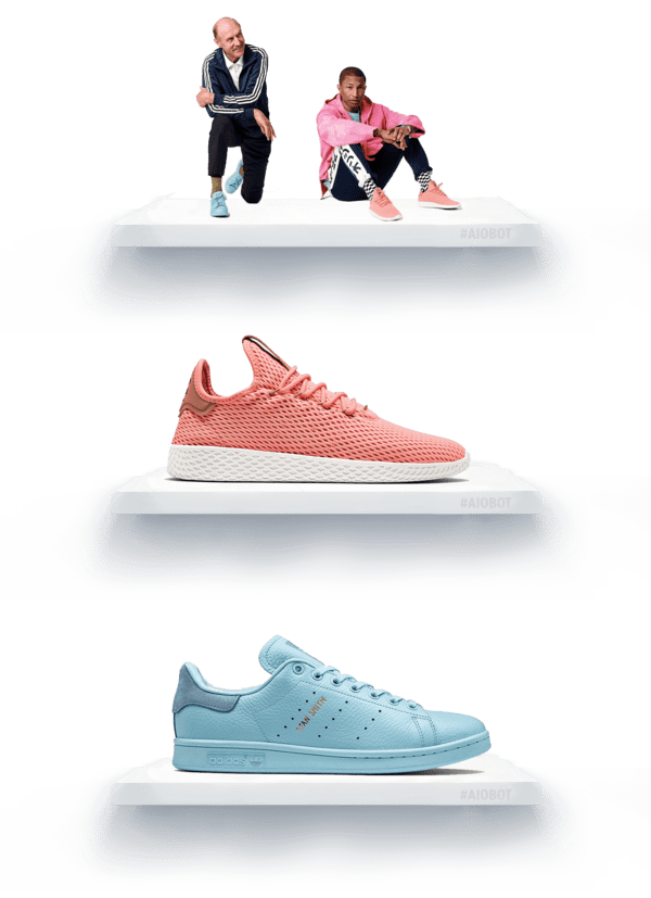 Pharrell Williams Adidas Tennis Hu & Stan Smith