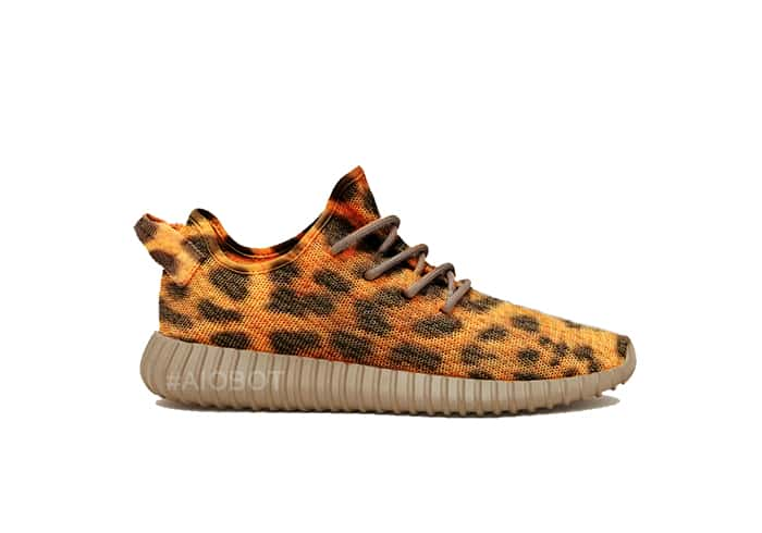 Cheetah Yeezy Boost 350