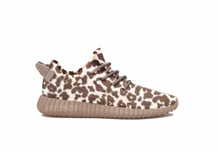Leopard Yeezy Boost 350