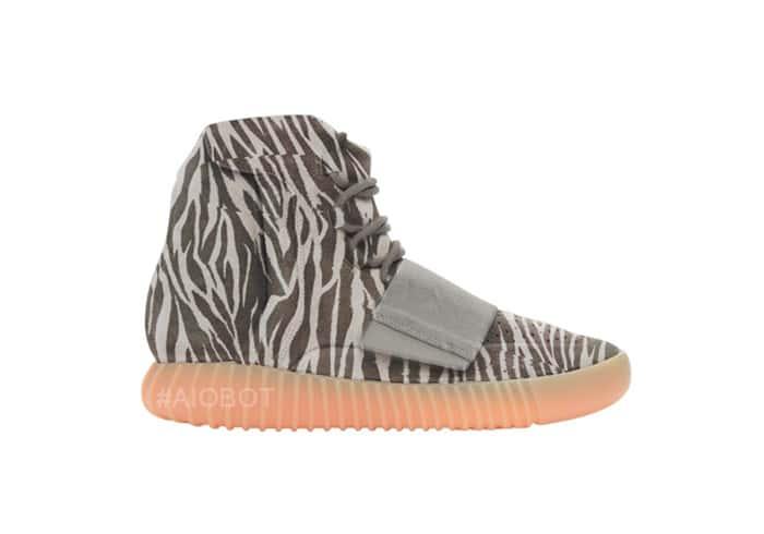Zebra Yeezy Boost 750