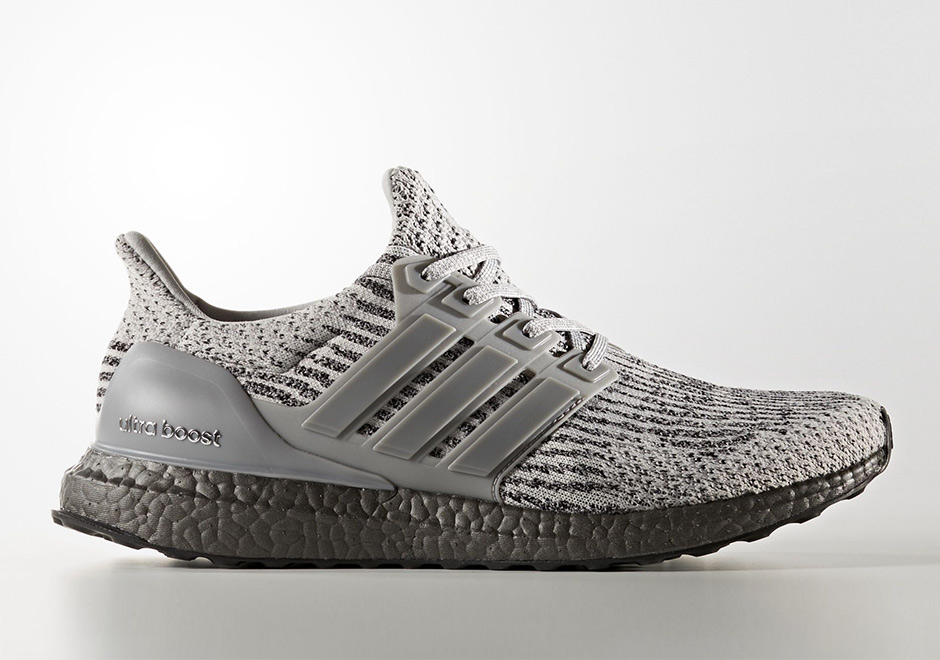 8c9b12584633 Adidas Ultra Boost 3.0 Triple Grey