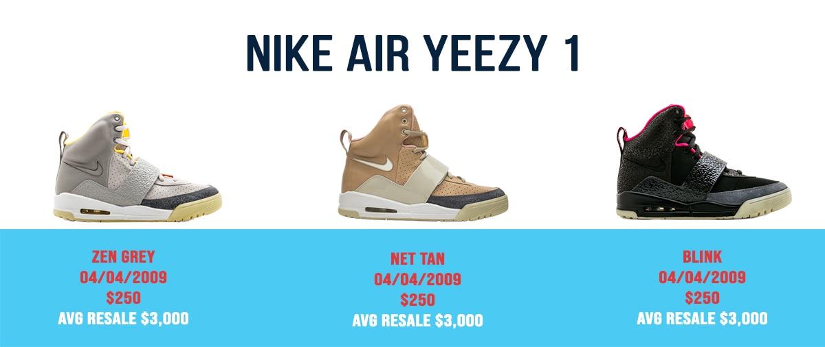 Nike Air Yeezy Sneakers 1 - AIO Bot Blog