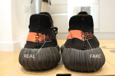 newest d9447 0154e Custom Yeezy Boost 350 V2s from China? Think again – Fake ...
