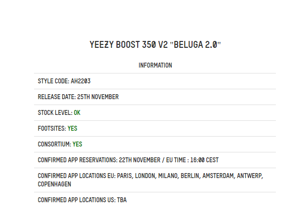 sports shoes d54b6 3f4f3 Back 2 Back November Yeezy Releases: Yebra & Beluga 2.0 ...