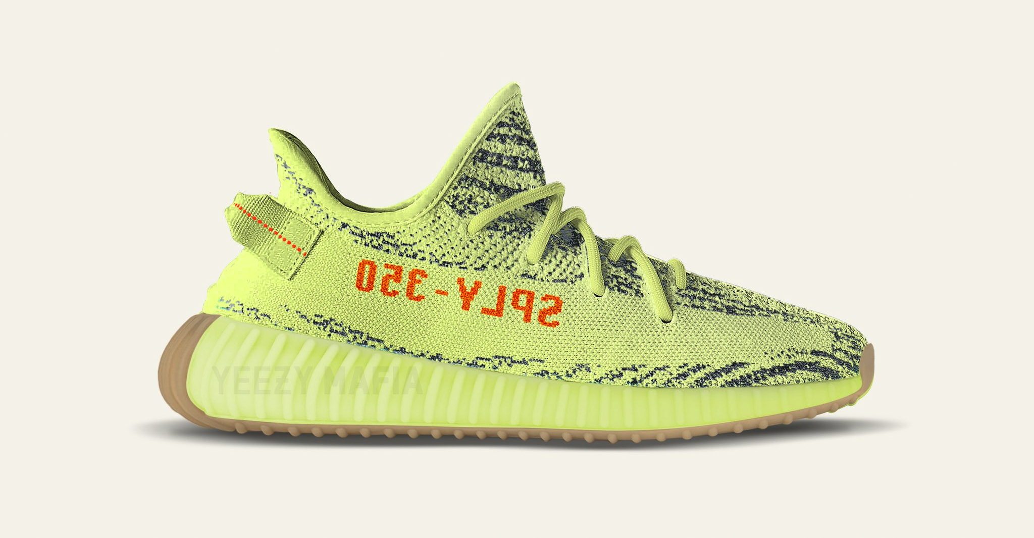 83689cbbc3a83 Gum outsoles for the Yeezy Boost Frozen Yellow