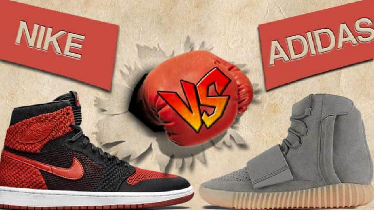 sneaker nike ou adidas