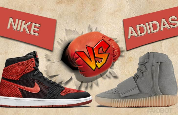 adidas vs nike rivalry