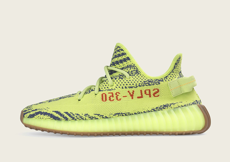 27f80d616 Yeezy Boost 350 V2 Semi Frozen Yellow Official Images. adidas-semi-frozen- yellow-official-image
