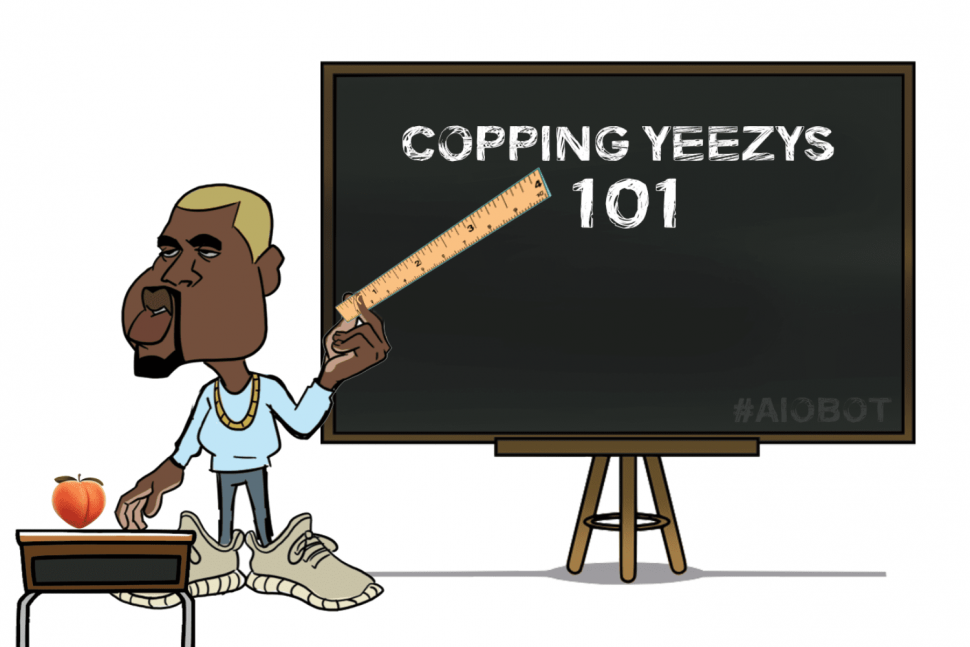 copping Yeezys