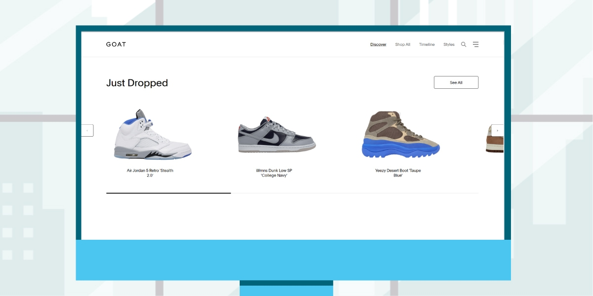 Places to buy Yeezys - GOAT Resale Platform - AIO Bot