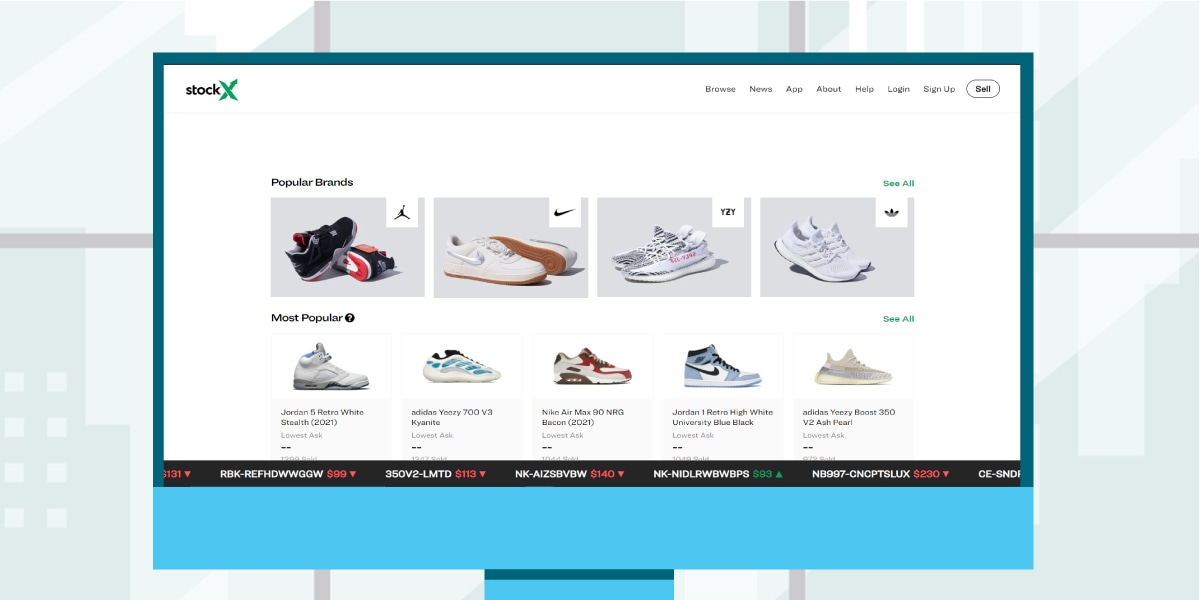 Places to buy Yeezys - StockX Resale Platform - AIO Bot