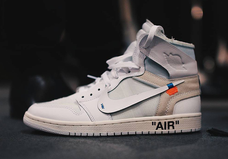 Sneaker Releases 2018: Off White Air Jordan 1