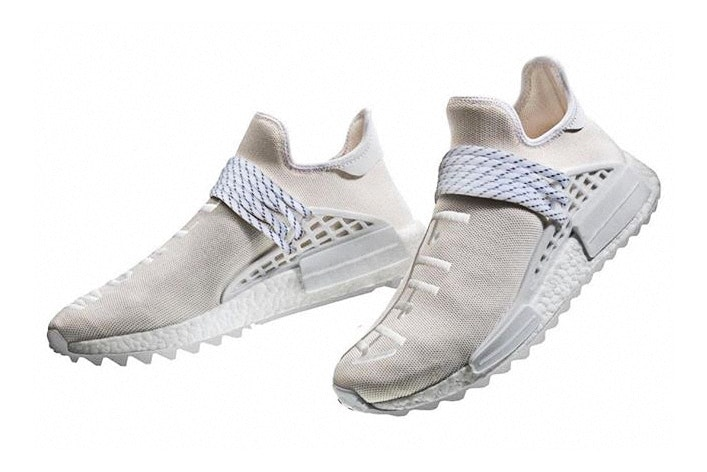 Pharrell X Adidas NMD Hu Trail Blank Canvas 2018