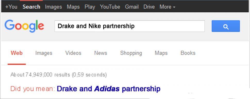 nike jordan brand adidas drake meme